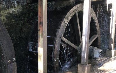 Spelt Milling at Dunster Castle Water Mill