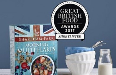 Sharpham Park Morning Multi Flakes Shortlisted in the Great British Food Aw