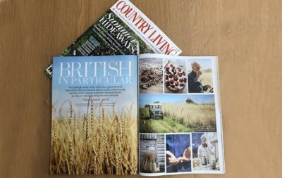 Country Living Magazine features Sharpham Park
