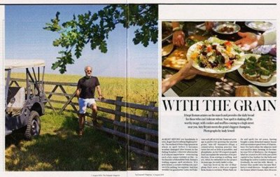 The Telegraph Magazine features Sharpham Park