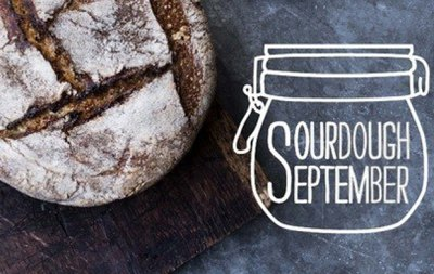 We're support the Real Bread Campain with Sourdough September
