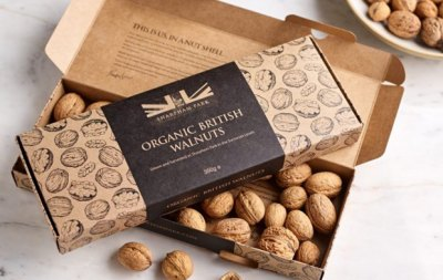 Go nuts for organic British Walnuts!