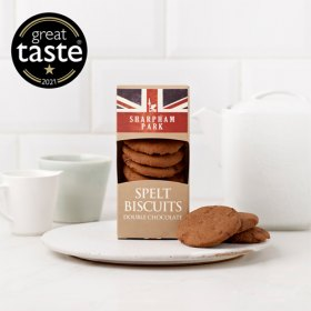 Double Chocolate All Butter Spelt Biscuits - 180g